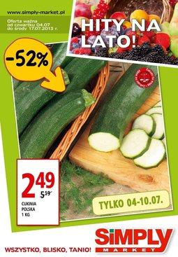 Gazetka promocyjna Simply Market, ważna od 04.07.2013 do 17.07.2013.