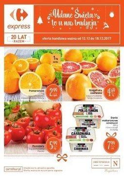 Gazetka promocyjna Carrefour, ważna od 12.12.2017 do 18.12.2017.
