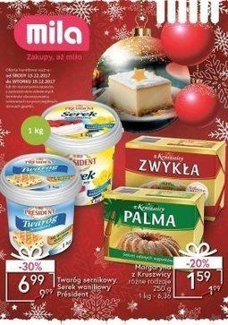 Gazetka promocyjna Mila, ważna od 13.12.2017 do 19.12.2017.