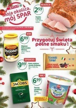 Gazetka promocyjna Spar, ważna od 14.12.2017 do 24.12.2017.