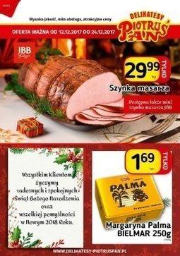 Gazetka promocyjna Piotruś Pan, ważna od 12.12.2017 do 24.12.2017.