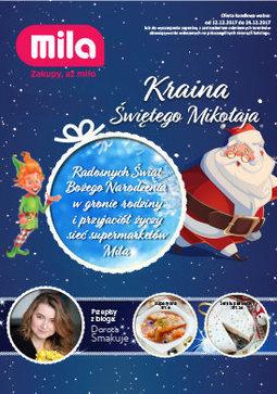 Gazetka promocyjna Mila, ważna od 12.12.2017 do 24.12.2017.