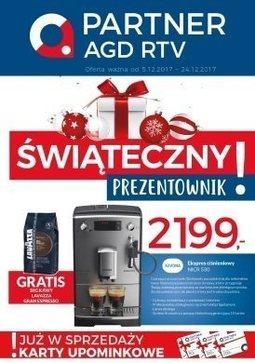 Gazetka promocyjna Partner AGD RTV, ważna od 05.12.2017 do 24.12.2017.