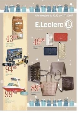 Gazetka promocyjna E.Leclerc, ważna od 12.12.2017 do 17.12.2017.