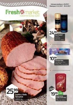 Gazetka promocyjna Freshmarket, ważna od 13.12.2017 do 26.12.2017.