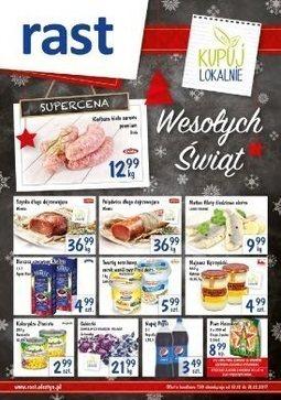 Gazetka promocyjna Rast, ważna od 13.12.2017 do 31.12.2017.