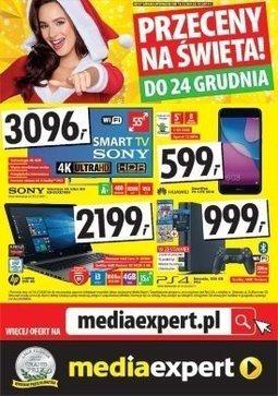 Gazetka promocyjna Media Expert, ważna od 14.12.2017 do 24.12.2017.