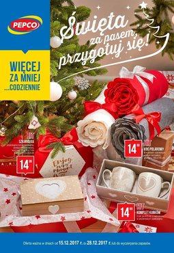 Gazetka promocyjna Pepco, ważna od 15.12.2017 do 28.12.2017.