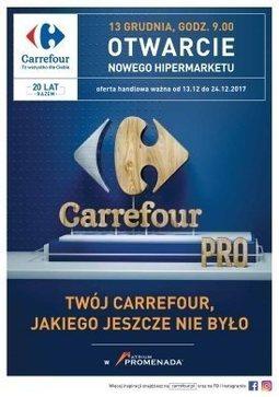 Gazetka promocyjna Carrefour, ważna od 13.12.2017 do 24.12.2017.