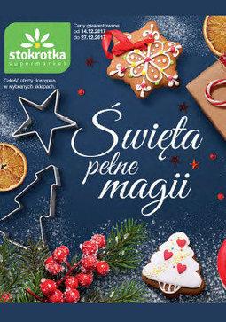 Gazetka promocyjna Stokrotka, ważna od 14.12.2017 do 27.12.2017.