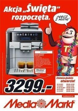 Gazetka promocyjna Media Markt, ważna od 14.12.2017 do 24.12.2017.
