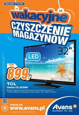 Gazetka promocyjna Avans, ważna od 04.07.2013 do 17.07.2013.