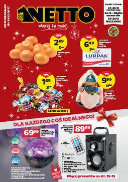 Gazetka promocyjna Netto, ważna od 18.12.2017 do 24.12.2017.