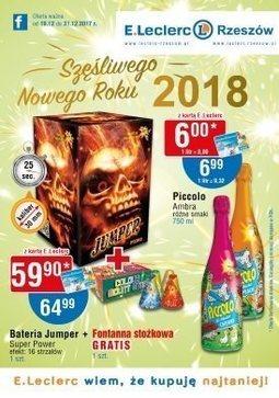 Gazetka promocyjna E.Leclerc, ważna od 19.12.2017 do 31.12.2017.
