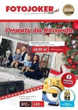 Gazetka promocyjna Fotojoker, ważna od 01.12.2017 do 31.12.2017.