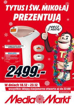 Gazetka promocyjna Media Markt, ważna od 18.12.2017 do 23.12.2017.