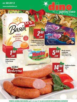 Gazetka promocyjna Dino, ważna od 11.12.2013 do 17.12.2013.