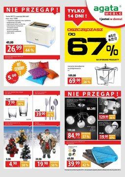 Gazetka promocyjna Agata , ważna od 09.12.2013 do 22.12.2013.