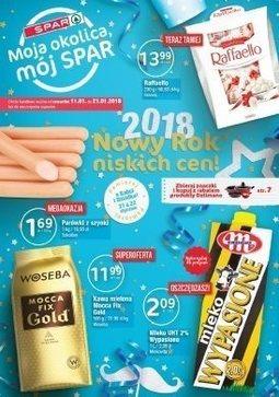 Gazetka promocyjna Spar, ważna od 11.01.2018 do 21.01.2018.