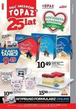 Gazetka promocyjna Topaz, ważna od 18.01.2018 do 24.01.2018.