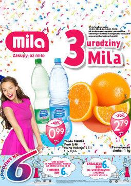 Gazetka promocyjna Mila, ważna od 10.01.2018 do 16.01.2018.