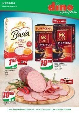 Gazetka promocyjna Dino, ważna od 10.01.2018 do 16.01.2018.