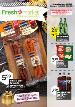 Gazetka promocyjna Freshmarket, ważna od 10.01.2018 do 23.01.2018.