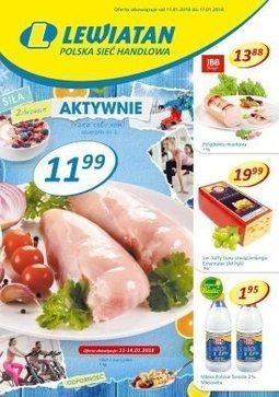 Gazetka promocyjna Lewiatan, ważna od 11.01.2018 do 17.01.2018.