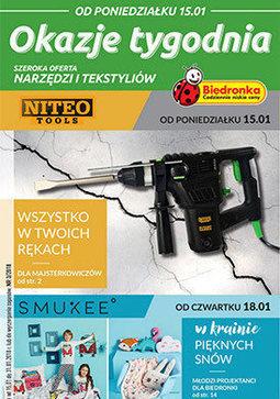 Gazetka promocyjna Biedronka, ważna od 15.01.2018 do 29.01.2018.