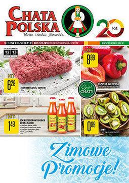 Gazetka promocyjna Chata Polska, ważna od 11.01.2018 do 17.01.2018.