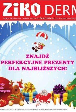 Gazetka promocyjna Ziko Dermo , ważna od 09.12.2013 do 04.01.2014.