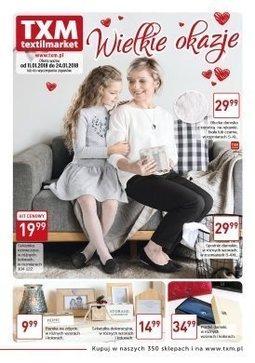 Gazetka promocyjna Textil Market, ważna od 11.01.2018 do 24.01.2018.