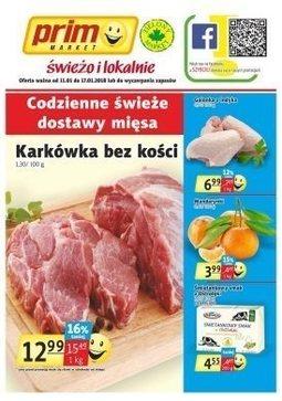 Gazetka promocyjna Prim Market, ważna od 11.01.2018 do 17.01.2018.