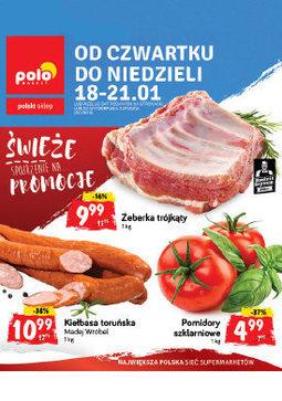 Gazetka promocyjna POLOmarket, ważna od 18.01.2018 do 21.01.2018.