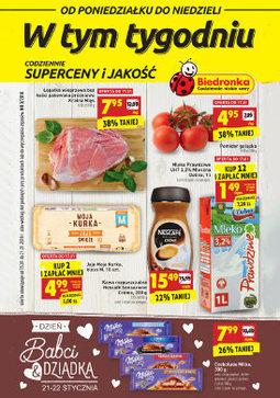 Gazetka promocyjna Biedronka, ważna od 15.01.2018 do 21.01.2018.