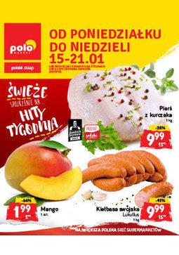 Gazetka promocyjna POLOmarket, ważna od 15.01.2018 do 21.01.2018.