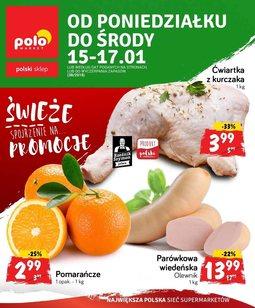 Gazetka promocyjna POLOmarket, ważna od 15.01.2018 do 17.01.2018.