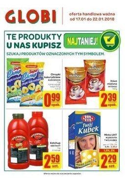 Gazetka promocyjna Globi, ważna od 17.01.2018 do 22.01.2018.
