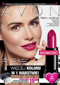 Gazetka promocyjna Avon, ważna od 18.01.2018 do 07.02.2018.