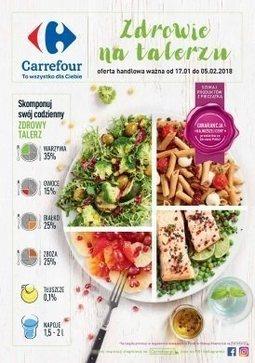Gazetka promocyjna Carrefour, ważna od 17.01.2018 do 05.02.2018.