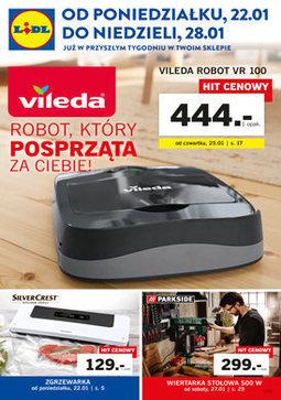 Gazetka promocyjna Lidl, ważna od 22.01.2018 do 28.01.2018.