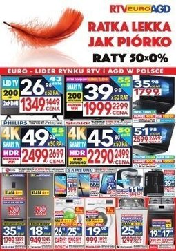 Gazetka promocyjna RTV Euro AGD, ważna od 15.01.2018 do 08.02.2018.
