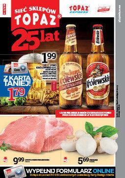 Gazetka promocyjna Topaz, ważna od 25.01.2018 do 31.01.2018.