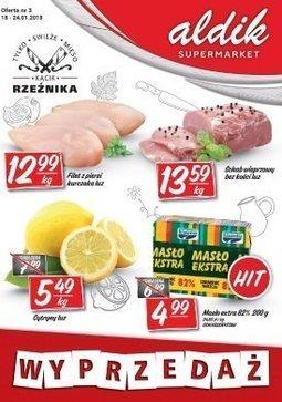Gazetka promocyjna Aldik, ważna od 18.01.2018 do 24.01.2018.
