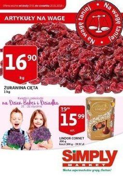 Gazetka promocyjna Simply Market, ważna od 17.01.2018 do 25.01.2018.