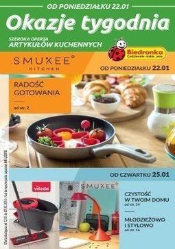 Gazetka promocyjna Biedronka, ważna od 22.01.2018 do 07.02.2018.