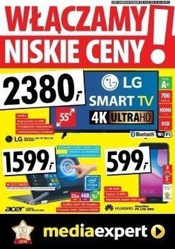 Gazetka promocyjna Media Expert, ważna od 18.01.2018 do 31.01.2018.
