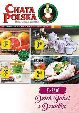 Gazetka promocyjna Chata Polska, ważna od 18.01.2018 do 24.01.2018.