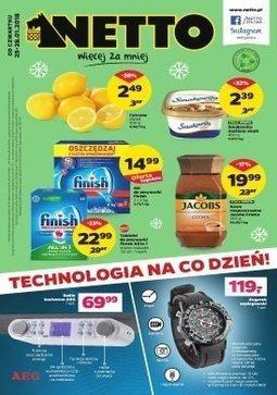 Gazetka promocyjna Netto, ważna od 25.01.2018 do 28.01.2018.