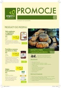 Gazetka promocyjna Organic Farma Zdrowia, ważna od 01.01.2018 do 31.01.2018.